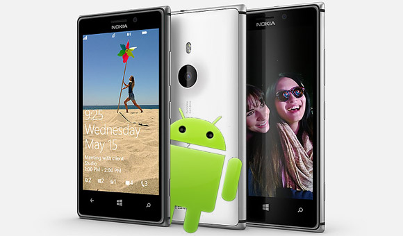 Nokia Android prototype mock up
