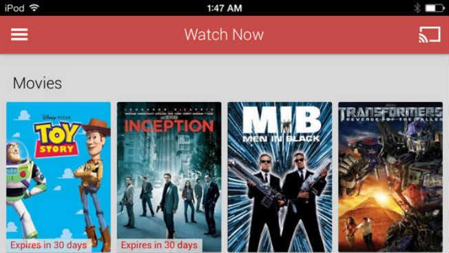google play movies tv app now available as free download for ios
