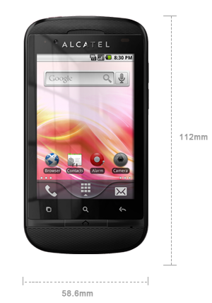 Alcatel Blaze Duo - affordable dual-SIM Android handset