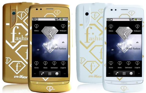 Fashion TV Android smartphone - brought to you by ZTE