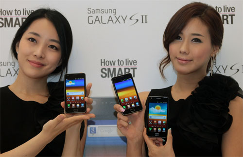 More than 10% of all South Koreans own a Samsung Galaxy S II