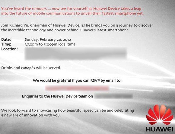Quad-core Huawei Ascend D1 Q Android phone will be showcased at MWC