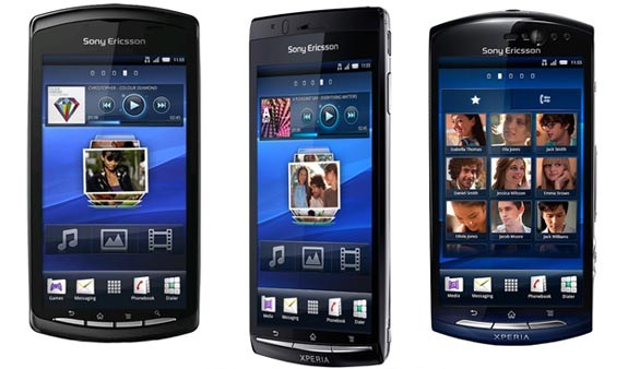 Sony Ericsson rolls out new Android update