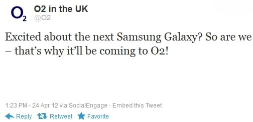 Vodafone and O2 UK will launch the Samsung Galaxy S III