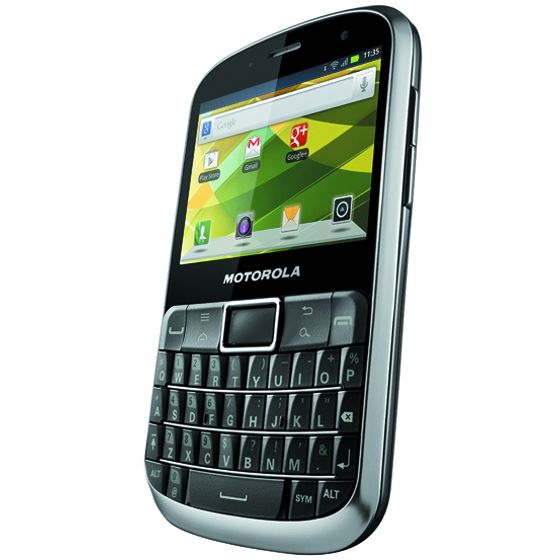 Motorola Defy Pro A Semi Rugged Android Phone With Full Qwerty