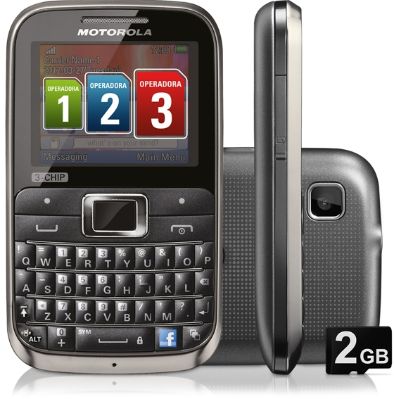 Meet The Motorola Motokey EX117 With Triple SIM And Full QWERTY