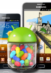 Samsung Galaxy S II and Note to receive Android Jelly Bean 4.1.2 in January