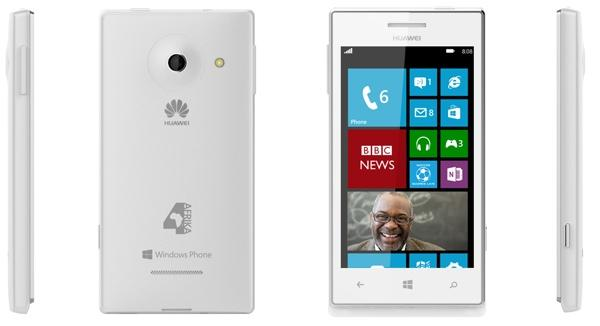Huawei and Microsoft announced the WP-running Huawei 4Afrika