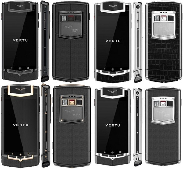 Luxurious Vertu Constellation TI will be the first Vertu phone to run Android