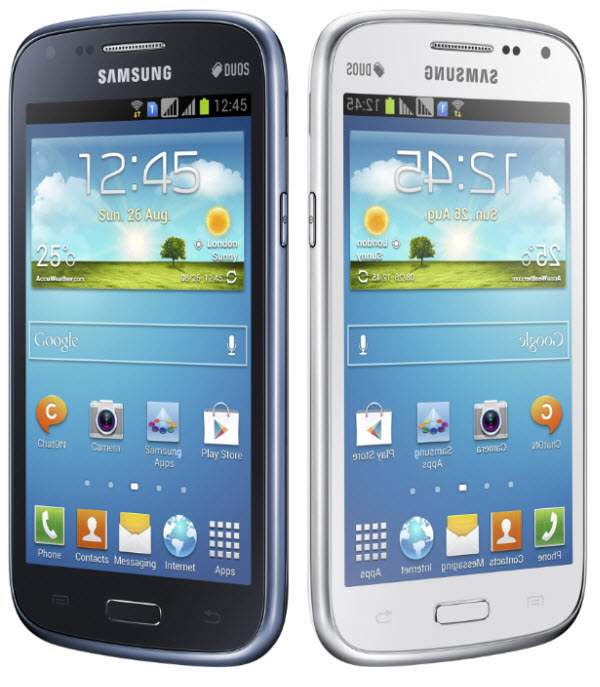Samsung Officially Presents The Dual Sim Galaxy Core Smartphone