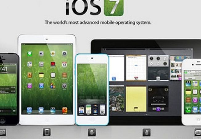 Apple says that iOS 7 runs on 74 percent of all compatible devices