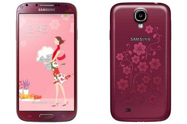 Samsung Galaxy S4 La Fleur Editon shows up in time for Valentine's Day