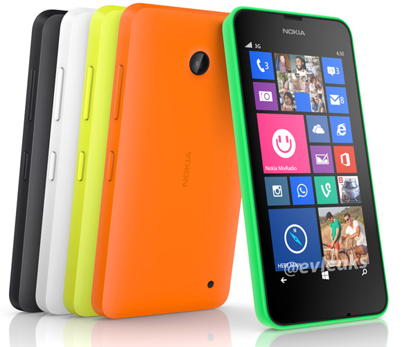 New Nokia Lumia 630 caught in press pics