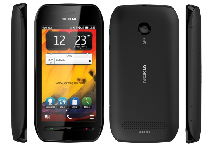 Nokia 603 phone photo gallery, official photos