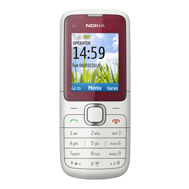 Nokia C1-01 phone photo gallery, official photos