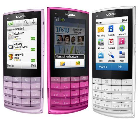 Nokia X3 02 Touch And Type Phone Photo Gallery Official