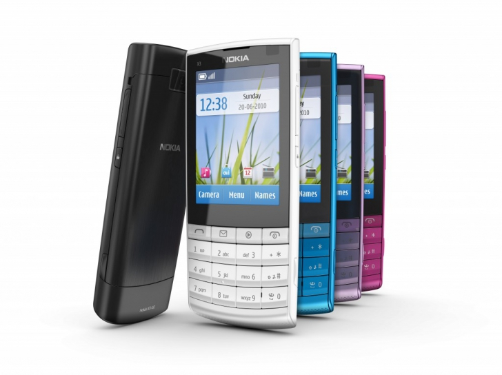 nokia x3 touch and type pictures. Nokia X3-02 Touch