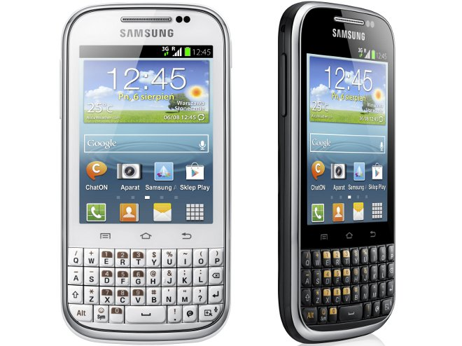 Samsung Galaxy Chat B5330 phone photo gallery, official photos
