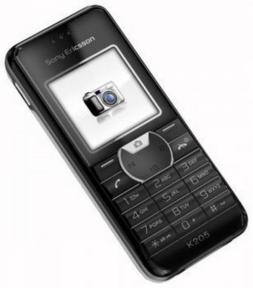 Sony Ericsson K205 phone photo gallery, official photos